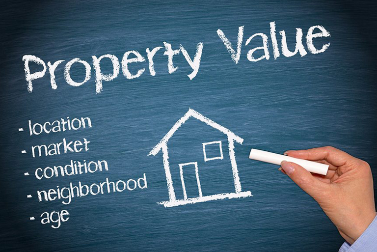 value and price of your property